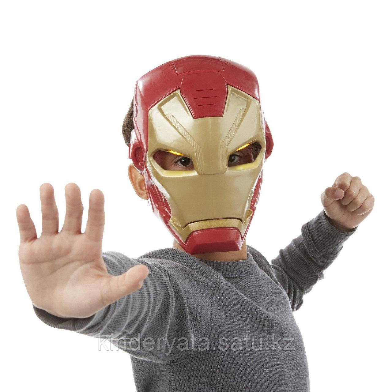 Электронная маска Железного Человека Avengers