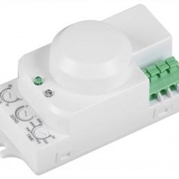Датчик движения ДД-МВ 201 белый, 1200Вт, 360 гр.,8М,IP20,IEK