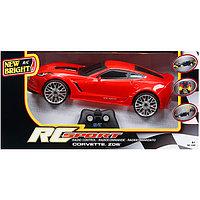 New Bright  Игрушка р/у Corvette Z06 (Красный)