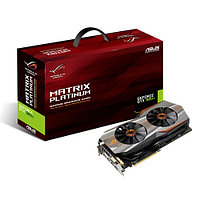 Видеокарта SVGA PCI Express, 6 GB, Asus MATRIX-GTX980Ti-6GD5-GAMING, DVI/HDMI/3DP, GDDR5/384 bit