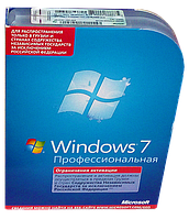 Windows Professional 7 32-bit/64-bit Russian NOT TO Russian DVD