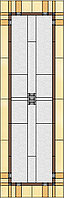 Витраж для межкомнатных дверей D1