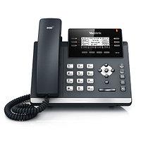 IP телефон Yealink SIP-T42G на 12 SIP с ГБ портами  РоЕ с БП, фото 1