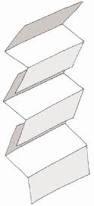 Туалетная бумага листовая Z-укладки «Эконом» для диспенсеров