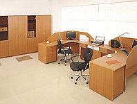 Стол письменный угловой правосторонний, 1400*900/700*750, Стиль/Бук, фото 1