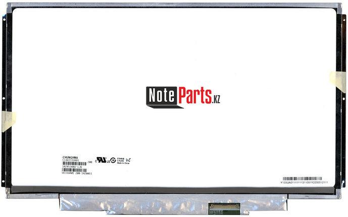 Дисплей для ноутбука CLAA133UA01 разрешение 1600*900 LED Слим 40пин крепление по бокам / пластина, фото 2