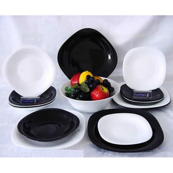 Столовый сервиз Luminarc Carine White&black 19 предметов на 6 персон