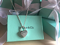 Кулон-замок в форме сердца Tiffany and Co
