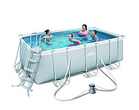 Каркасный бассейн POWER STEEL FRAME POOLS 4.12х2.01х1.22m