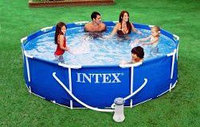 Каркасный бассейн Intex 56999 Metal Frame Pool 305*76