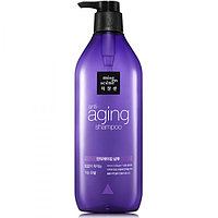 Антивозрастной шампунь Mise en Scene Black Pearl Anti-aging Full and Thick Shampoo,680мл