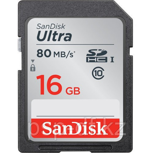 SanDisk Ultra SDHC UHS 16Gb 80 MB/s