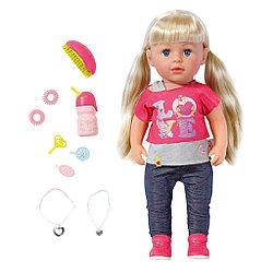 Baby Born Интерактивная кукла Сестричка, 43 см