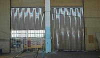 Ленточные шторы, теплоизолирующие завесы из ПВХ ширина 60 см