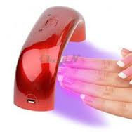 Mini LED-лампа для сушки гель-лака, фото 1