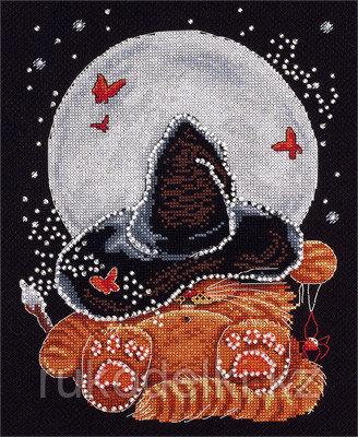 """Набор для вышивания крестом """"Лунный сон"""""""