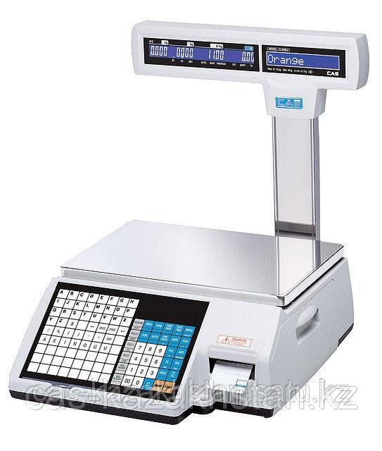 Весы торговые с принтером самоклеющихся этикеток CL5000J-15IP (CL5000J-15CP)