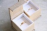 """Кольцо обручальное """"Алмазные грани"""", фото 9"""