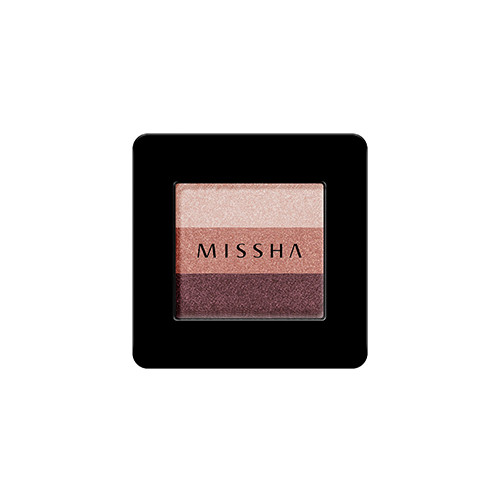 Тени для глаз  MISSHA Triple Shadow (No.5/Vintage Plum)