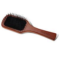Деревянная расческа с антистатическим эффектом Wooden Cushion Hair Brush (Medium)