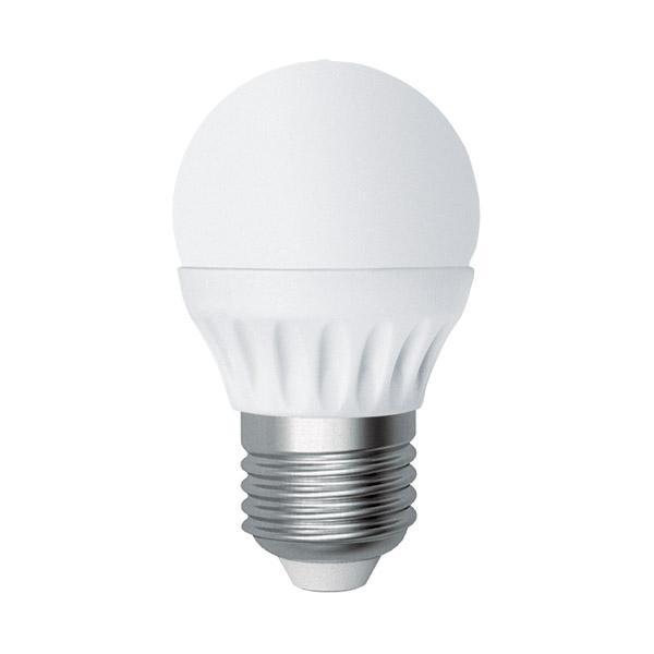 Лампа Светодиодная Лампа 5W шар Е27 К4000