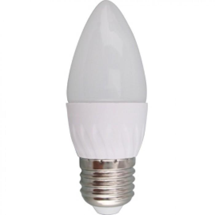 Лампа Светодиодная Лампа  5W свеча Е27 К2700