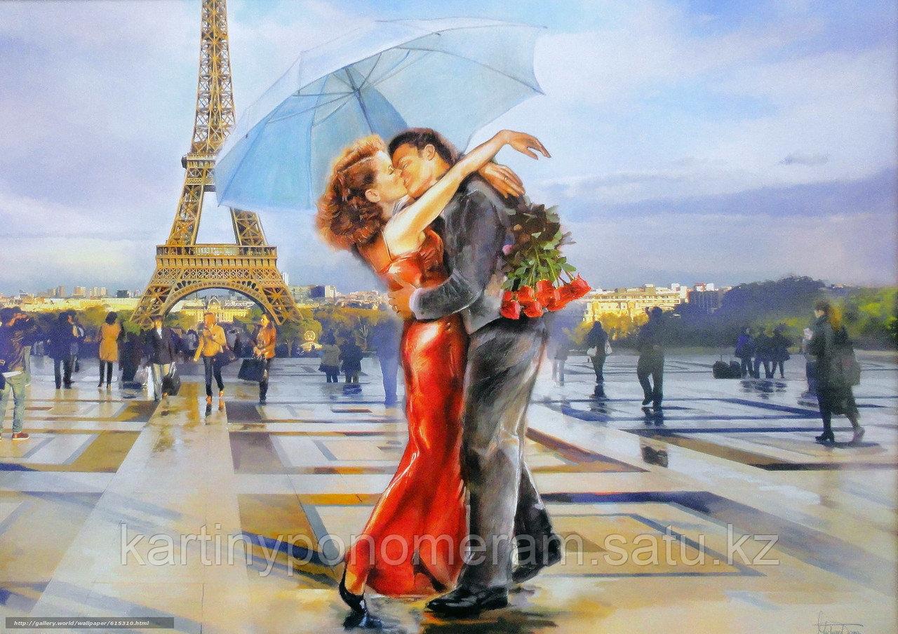 "Картина по номерам ""Французский поцелуй 3"""