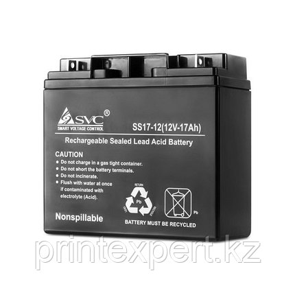 Батарея SVC 12В 17 Ач, фото 2