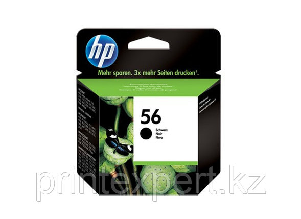 HP C6656AE Black Inkjet Print Cartridge №56 for DJ450/PSC2110, 19 ml, up to 450 pages, 15%. ;, фото 2