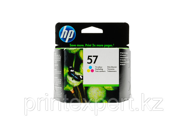 HP C6657AE Tri-color Inkjet Print Cartridge №57 for PS100/PSC2110, 17 ml, up to 400 pages, 15%. ;, фото 2