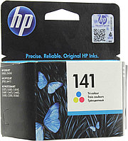 HP CB337HE Tri-color Inkjet Print Cartridge №141 for PhotoSmart C4283/C5283/D5363/J5783/D4263, 3.5 ml, up to 1