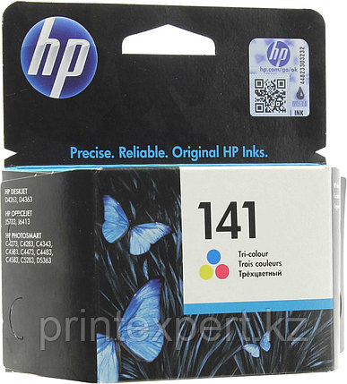 HP CB337HE Tri-color Inkjet Print Cartridge №141 for PhotoSmart C4283/C5283/D5363/J5783/D4263, 3.5 ml, up to 1, фото 2