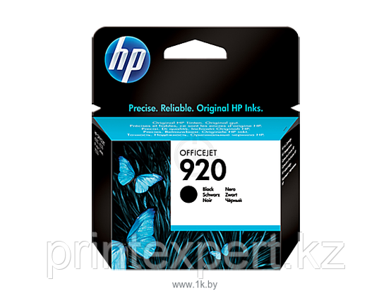 HP CD971AE Black Ink Cartridge №920 for Officejet 6500/7000, 10 ml, up to 420 pages. ;, фото 2