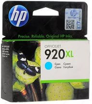 HP CD972AE Cyan Ink Cartridge №920XL for Officejet 6500/7000, 6 ml, up to 700 pages. ;