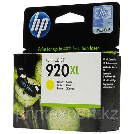 HP CD974AE Yellow Ink Cartridge №920XL for Officejet 6500/7000, 6 ml, up to 700 pages. ;, фото 2