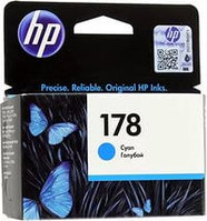 HP CB318HE Cyan Ink Cartridge №178 for PhotoSmart C6383/8553/D5463/C5383, up to 250 pages. ;
