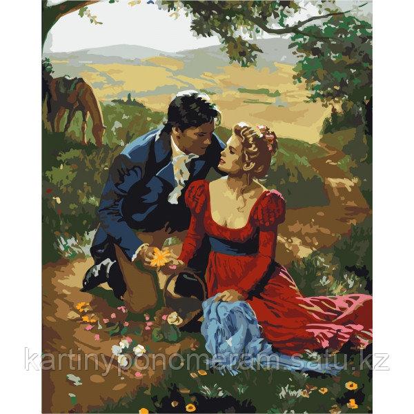 "Картина по номерам ""Признание в любви"""
