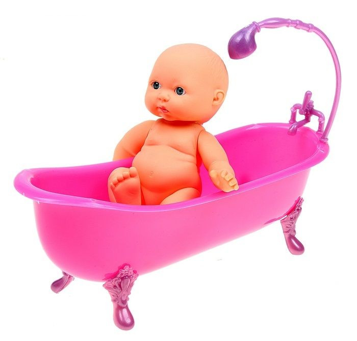 Пупс малыш с ванночкой №336-59C 568450