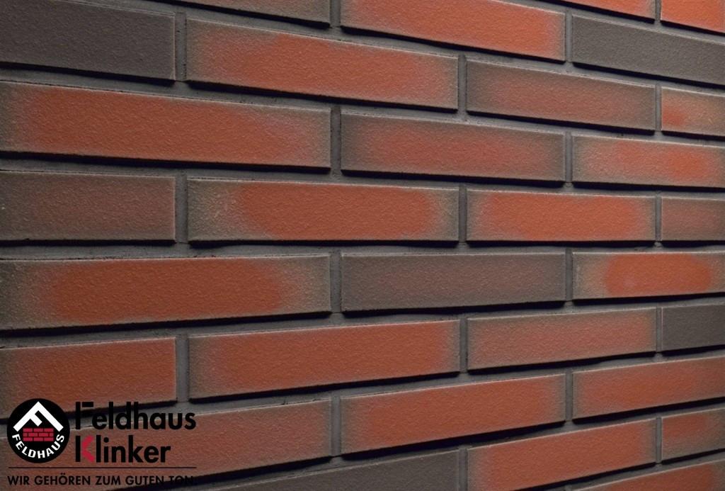 """Клинкерная плитка """"Feldhaus Klinker"""" для фасада и интерьера R303 ardor liso"""