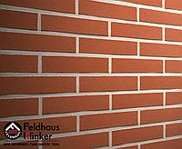"""Клинкерная плитка """"Feldhaus Klinker"""" для фасада и интерьера R400 carmesi liso, фото 1"""