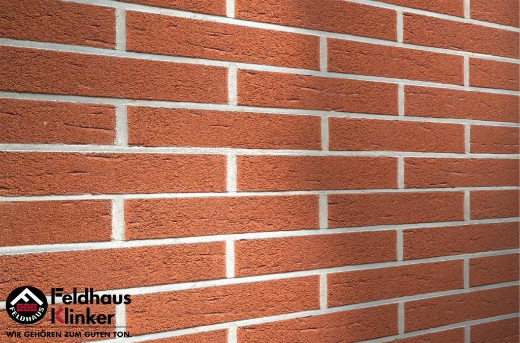 """Клинкерная плитка """"Feldhaus Klinker"""" для фасада и интерьера R487 terreno rustico"""