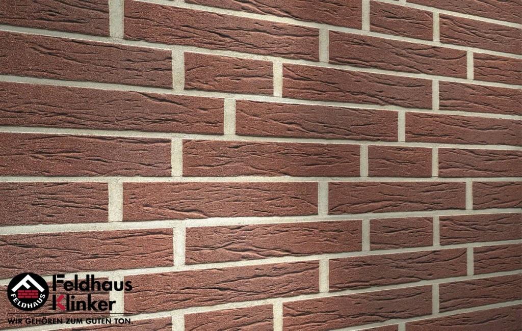 """Клинкерная плитка """"Feldhaus Klinker"""" для фасада и интерьера R555 terra antic mana"""