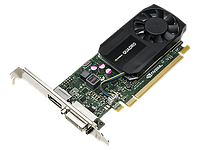 HP NVIDIA Quadro K620 2GB Graphics for all Z230, Z440, Z640, Z840;
