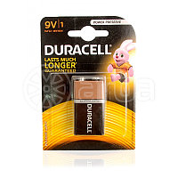 Duracell Lasts Much Longer  Guaranteed Батарейка 9V , упаковка 1шт