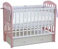 Кровать детская ФЕЯ 00-63119 белый-магнолия, фото 1