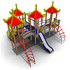 Детский игровой комплекс ИК-07 Размеры 7610 х 7110х4560мм