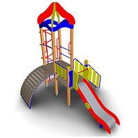 Детский игровой комплекс ИК-10.1для улицы Размеры 4550х3350х3900мм
