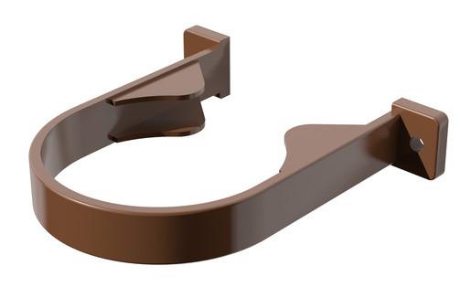 Хомут трубы 85 ⌀ коричневый
