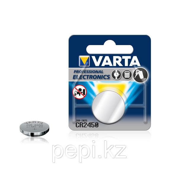 Батарейка Varta Electronics CR2450, 3V (1 шт.)