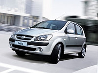 Защита картера и КПП Hyundai Getz all 2002-
